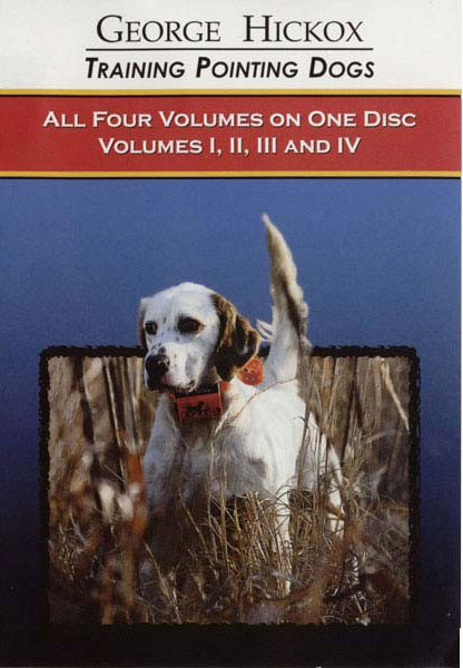 D.T. Systems Pointing Dog DVD Collection Vols. 1-4