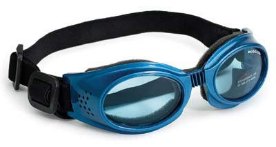 Doggles Originalz Dog Sunglasses Medium Blue / Blue