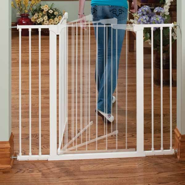 "Kidco Tall and Wide Auto Close Gateway Pressure Mounted Pet Gate Black 29"" - 47.5"" x 36"""