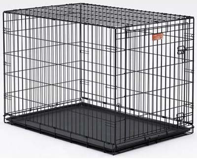 "Midwest Dog Single Door i-Crate Black 18"" x 12"" x 14"""