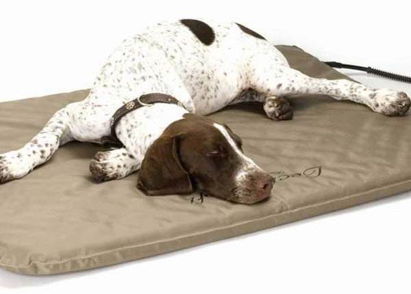 "K&H Pet Products Lectro-Soft Heated Outdoor Bed Small Tan 14"" x 18"" x 1.5"""