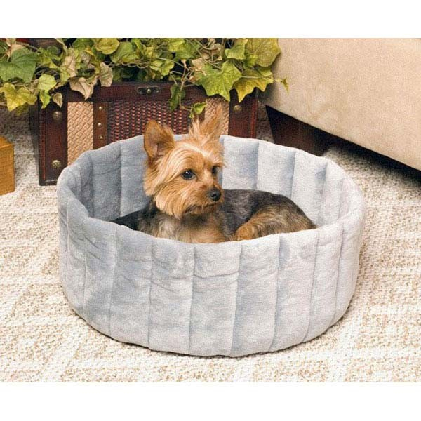 "K&H Pet Products Kitty Kup: Tan and Mocha, Large, 20"" x 20"" x 7"""