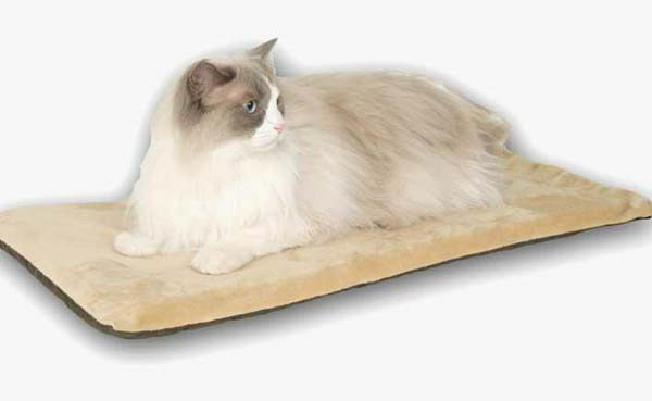 "K&H Pet Products Thermo-Kitty Mat Mocha 12.5"" x 25"" x 0.5"""