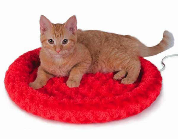 "K&H Pet Products Thermo-Kitty Fashion Splash: Mocha, 18"" x 18"" x 3"""