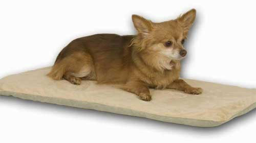 "K&H Pet Products Thermo-Pet Mat: Mocha, 14"" x 28"" x 0.5"""