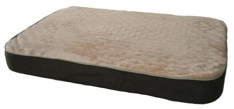 "K&H Pet Products Memory Sleeper Pet Bed Large Mocha 29"" x 45"" x 3.75"""