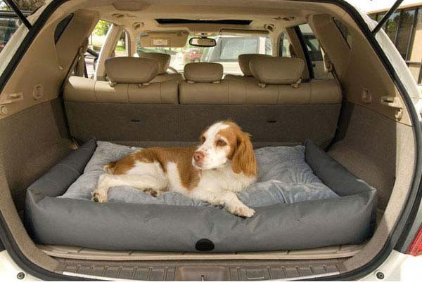 "K&H Pet Products Travel / SUV Pet Bed Small Gray 24"" x 36"" x 7"""