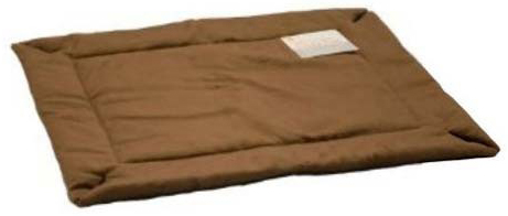 "K&H Pet Products Self-Warming Crate Pad: Mocha, 20"" x 25"" x 0.5"""