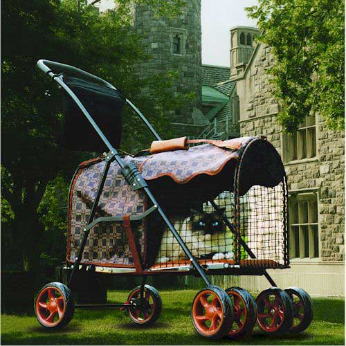 "Kittywalk Classic Pet Stroller Royale 26"" x 14"" x 35.5"""