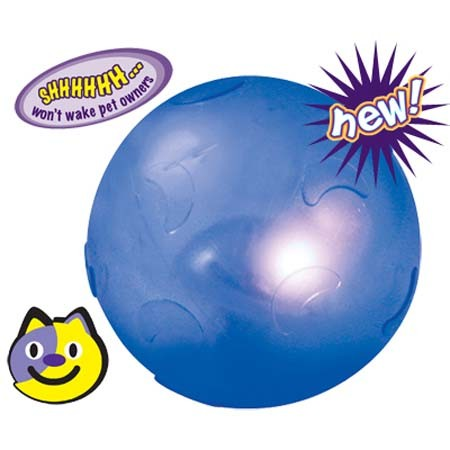 Petstages Twinkle Ball Blue