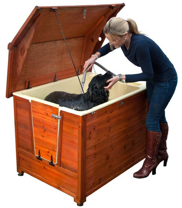 "DoggyShouse Grooming Kennel: 45"" x 38"" x 35"""