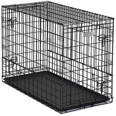 Midwest Products Solutions Series Side-by-side Double Door Suv Dog Crates