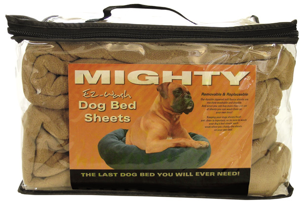 Mighty Beds: Tan Sheet, Medium