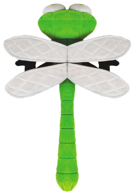 Mighty Toy Bug: DragonFly, Green