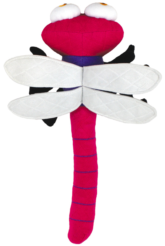 Mighty Toy Bug: DragonFly, Pink