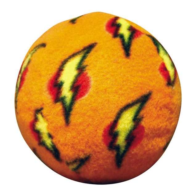 Mighty Toy Ball: Orange, Medium