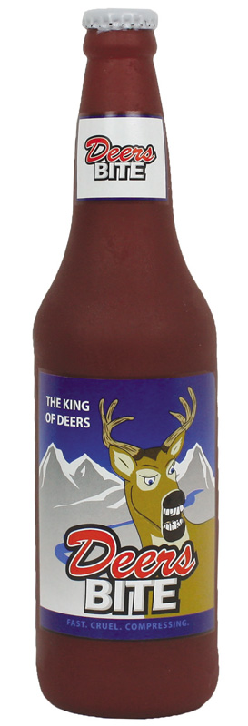Silly Squeakers Beer Bottles: Deers Bite