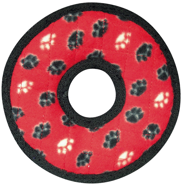 Tuffy Jr Ring: Red Paw Print