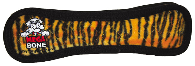 Tuffy Mega Bone: Tiger Print