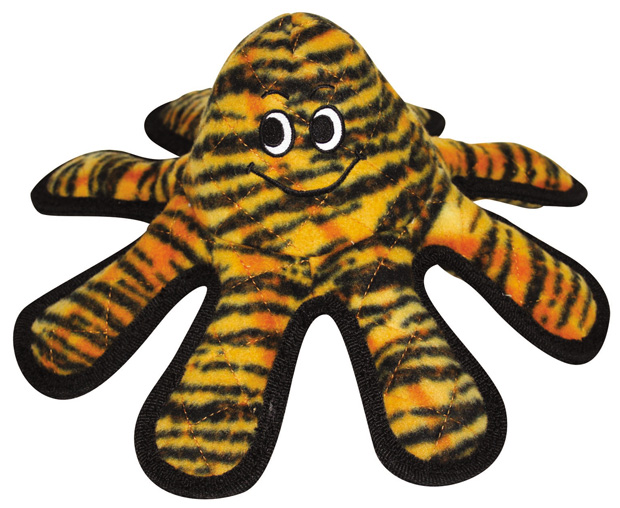 Tuffy Mega Octopus: Small, Tiger Print