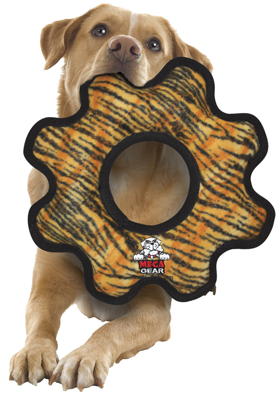 Tuffy Mega Gear Ring: Tiger Print