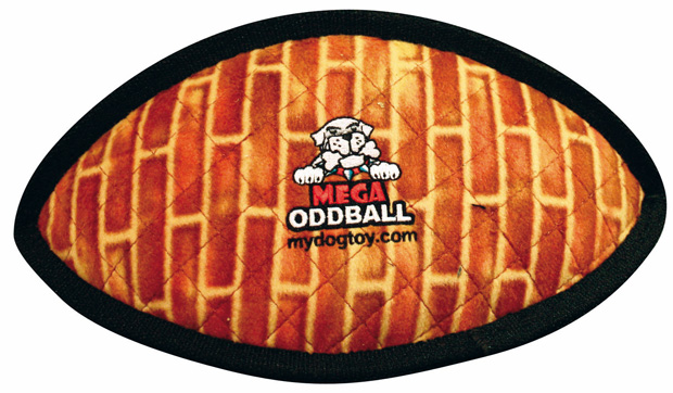 Tuffy Mega Odd Ball: Brick Print