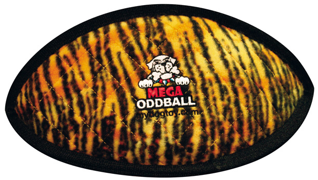 Tuffy Mega Odd Ball: Tiger Print