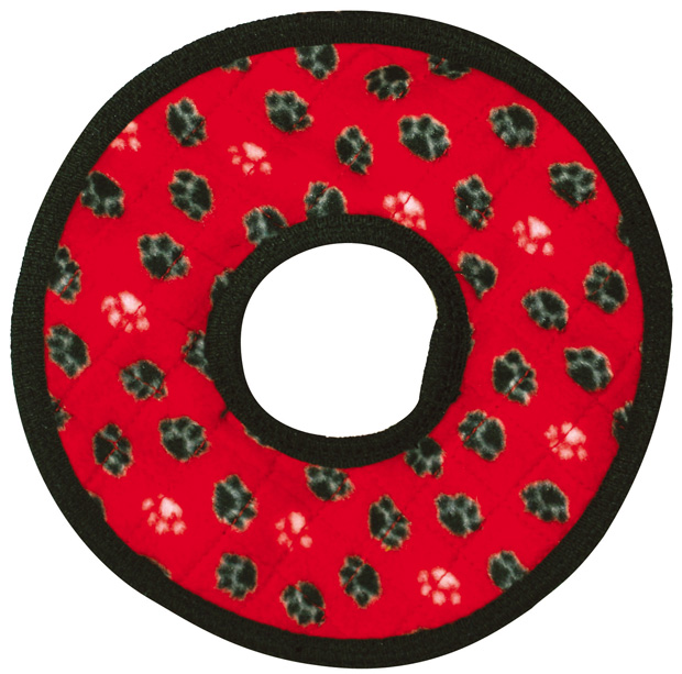 Tuffy No Stuff Ultimate Ring: Red Paw