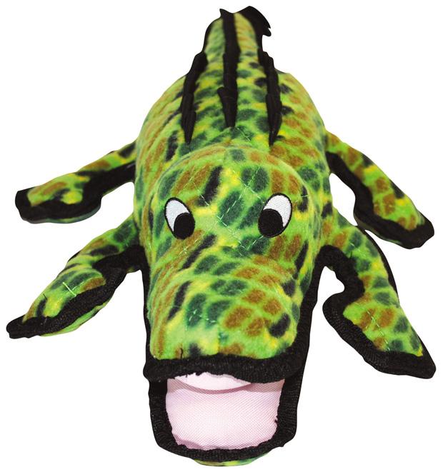 Tuffy Sea Creature Gary Gator Interactive Dog Toys