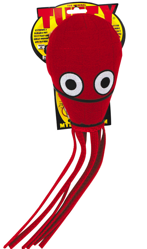 Tuffy Sea Creature: Squid, Red