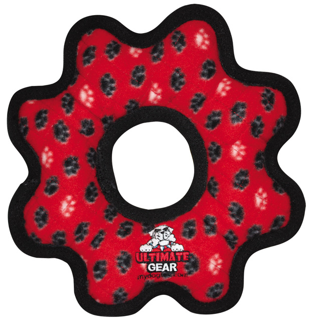 Tuffy Ultimate Gear Ring: Red Paw