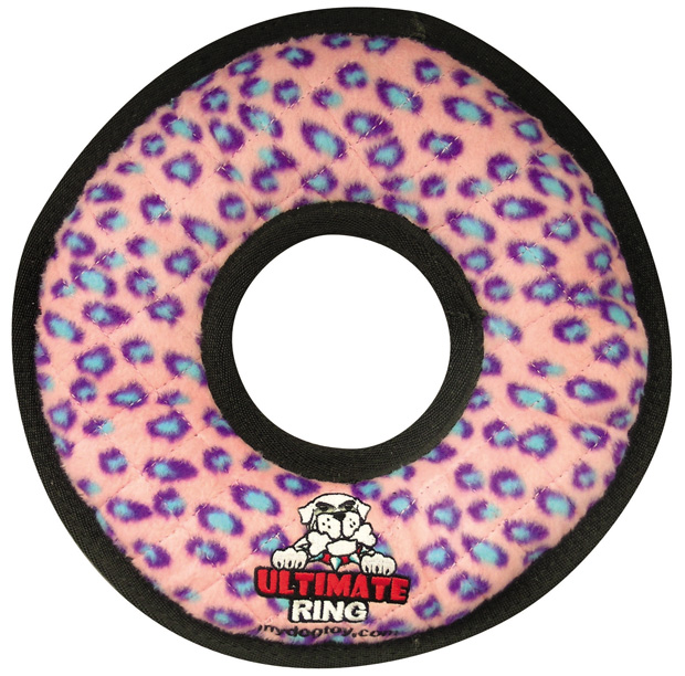 Tuffy Ultimate Ring: Pink Leopard