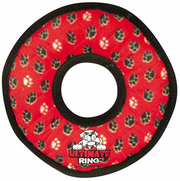 Tuffy Ultimate Ring: Red Paws