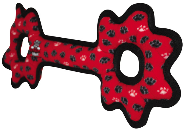 Tuffy Ultimate Tug-O-Gear: Red Paw