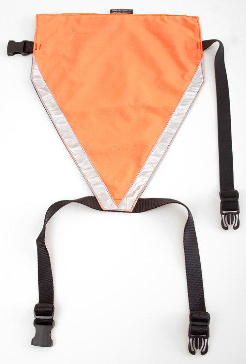 Mendota Pet Visi-Vest: Orange, Large