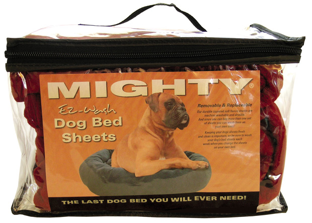 Mighty Beds: Red Sheet, Large