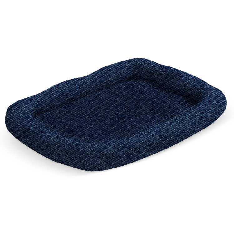 "Pura Naturals Pet Perfect Pad, Extra Large (28"" x 42"") Denim"