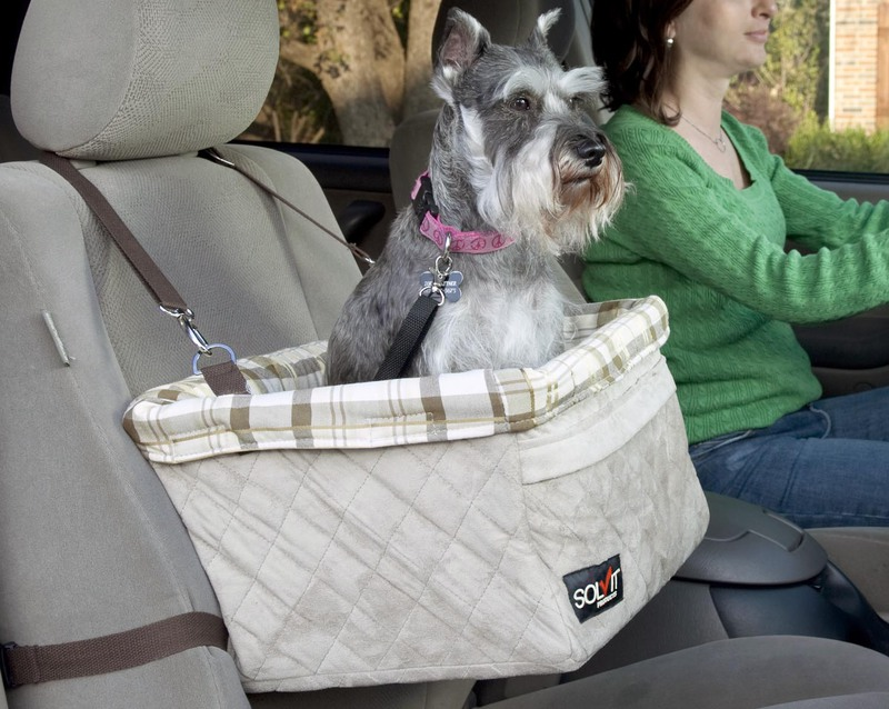 Solvit Deluxe Pet Booster Seat: Large