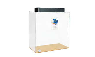 ClearforLife 60 Acrylic Aquarium: 60G, Cube, Clear Back