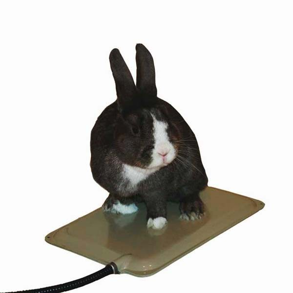 "K&H Pet Products Small Animal Heated Brown 9"" x 12"" x 0.5"""