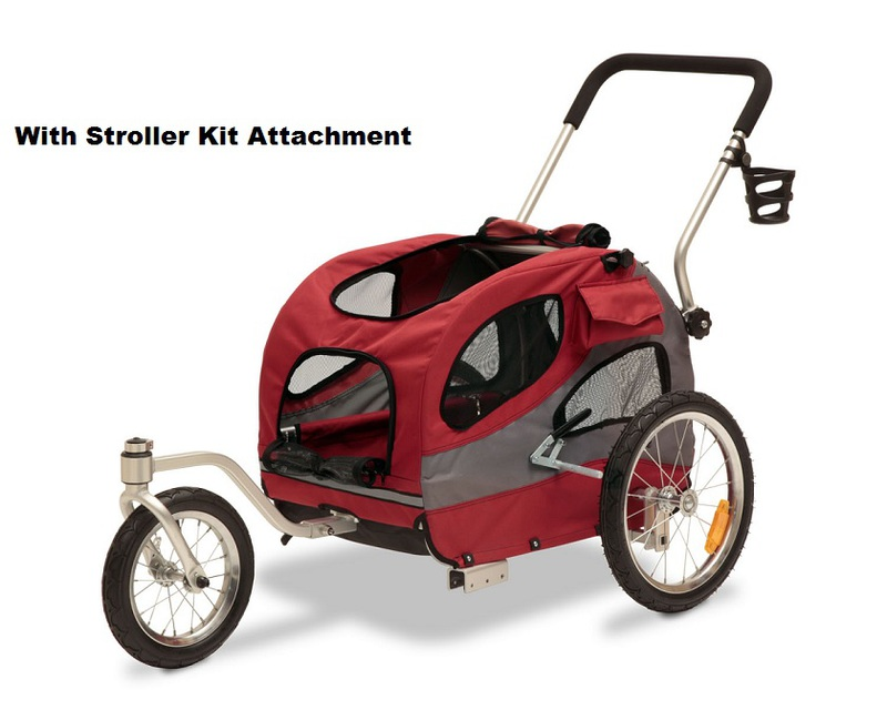 Solvit Jogging/Stroller Kit for Medium HoundAbout Bicycle Trailer