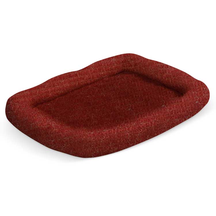 "Pura Naturals Pet Perfect Pad, Small (19"" x 24"") Crimson"