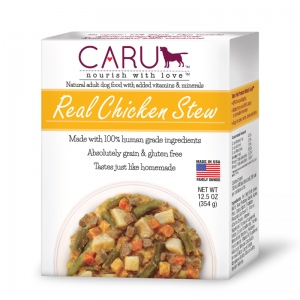 CARU Real Chicken Stew for Dogs: 12.5 oz, 12 x 1 Case