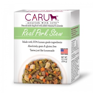 Real Pork Stew for Dogs: 12.5 oz, 12 x 1 Case