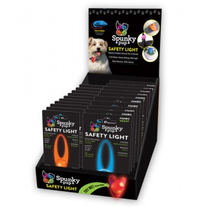 Spunky Pup Displays - Flash & Glow Safety Light 20 pc