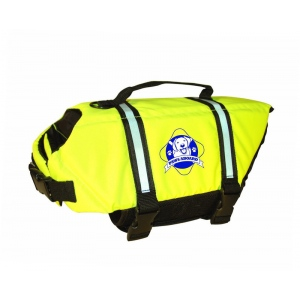 Paws Aboard Safety Dog Life Jacket: Yellow, Small