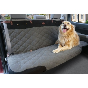 Solvit Premium Bench Pet Seat Cover: Grey, XL