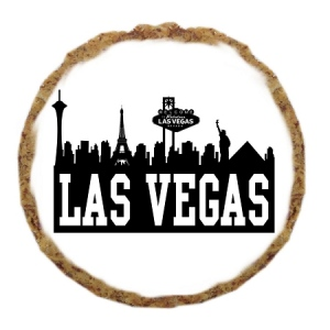 Las Vegas Skyline Dog Treats - 12 Pack