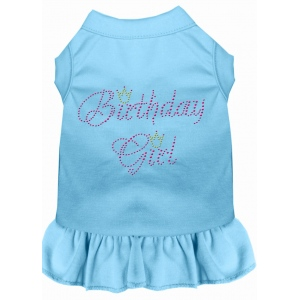Birthday Girl Rhinestone Dress Baby Blue 4X (22)