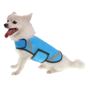 Pet Life Extreme Neoprene Multi-Purpose Protective Shell Dog Coat: X-Small, Blue